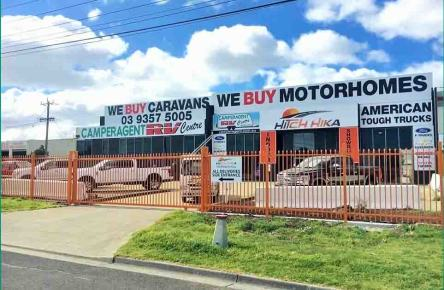 Camperagent Hitchhika Factory Melbourne - We Buy Caravans and Motohomes