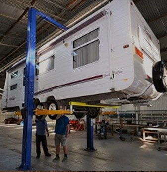 Camperagent Service Centre Adelaide. We Offer RV Service & Repairs including Warranty and Insurance. We Stock Caravan and RV Parts