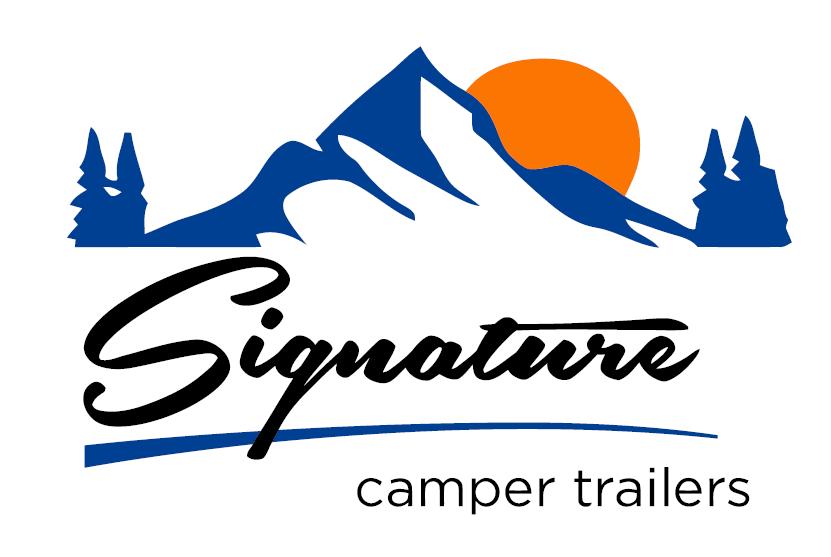 Signature camper logo