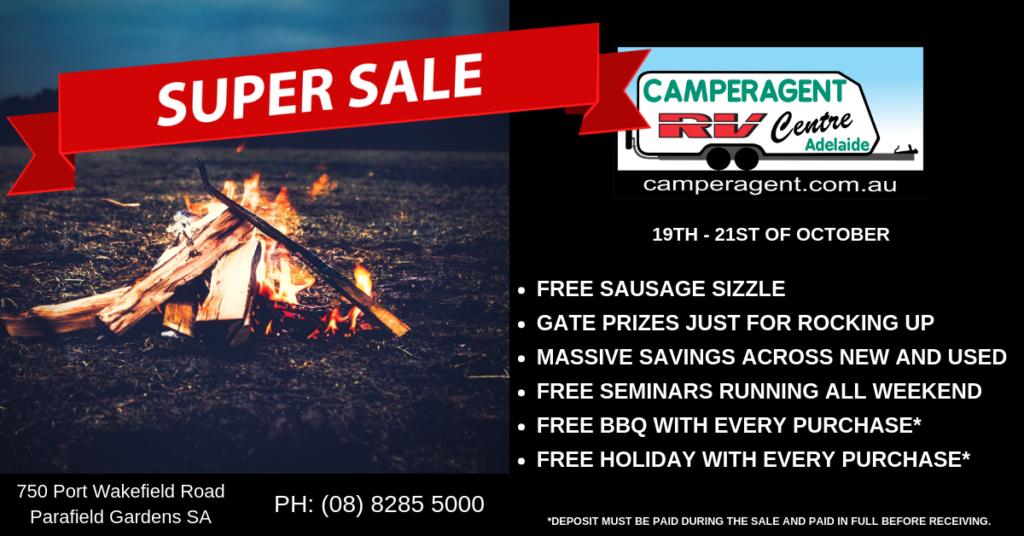 camperagent in yard super sale