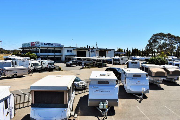 Camperagent caravan motorhome yard