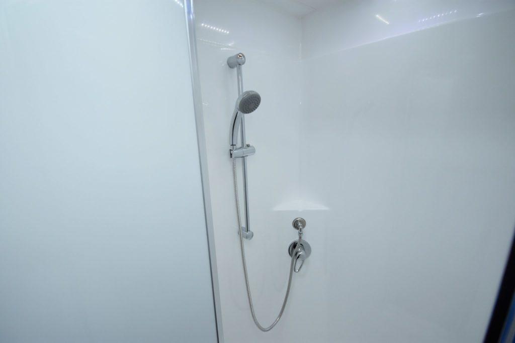Caravan with ensuite shower