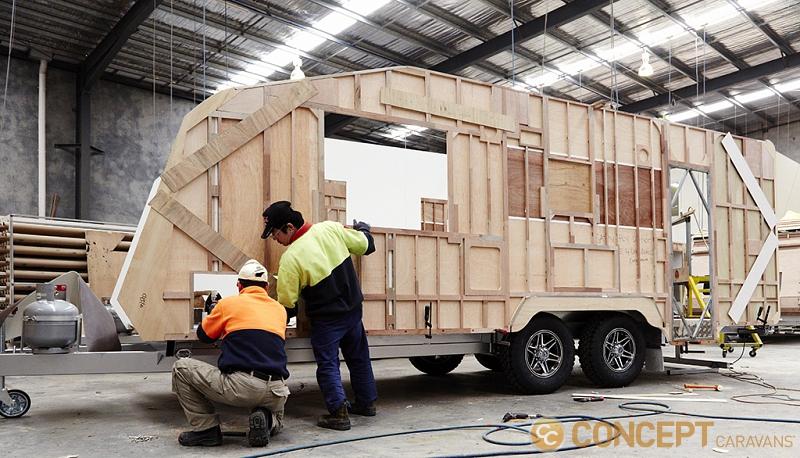 Concept caravans Factory