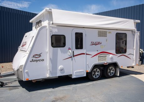 JAYCO JOURNEY POPTOP CARAVAN